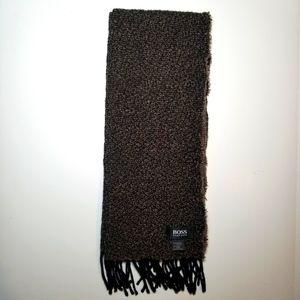 Hugo Boss Wool Cotton Scarf